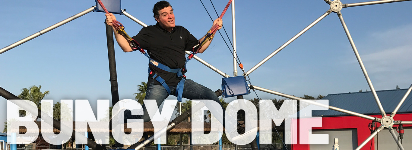 The Bungy Dome is fun for kids of all ages