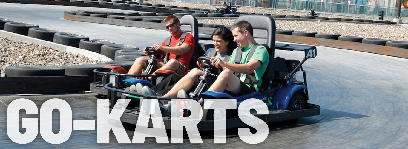 Our Go-Karts are fast and fun