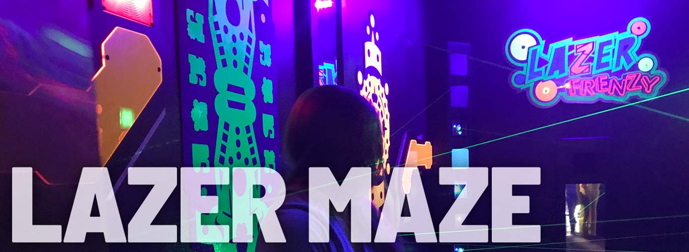 New Lazer Maze at In the Game