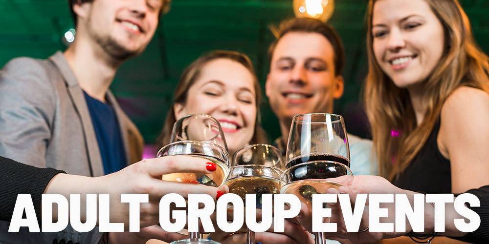 Adult Group Events at In The Game