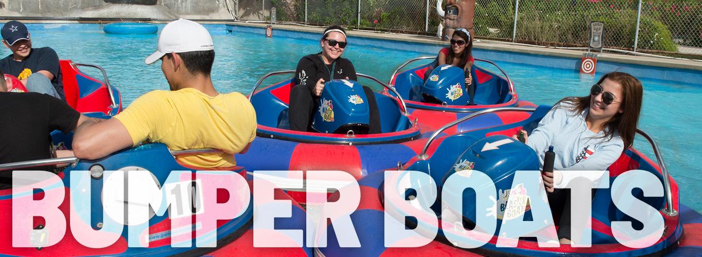Bumper Boats are so much fun!