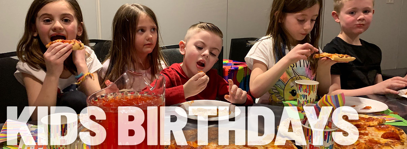 Kids Birthday Parties at In The Game are Epic