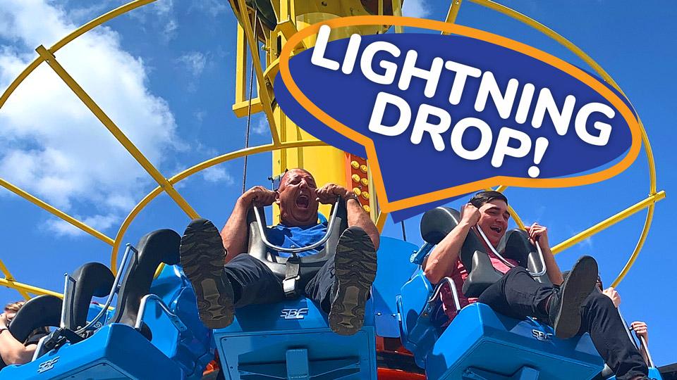 Ride the Lightning Drop!