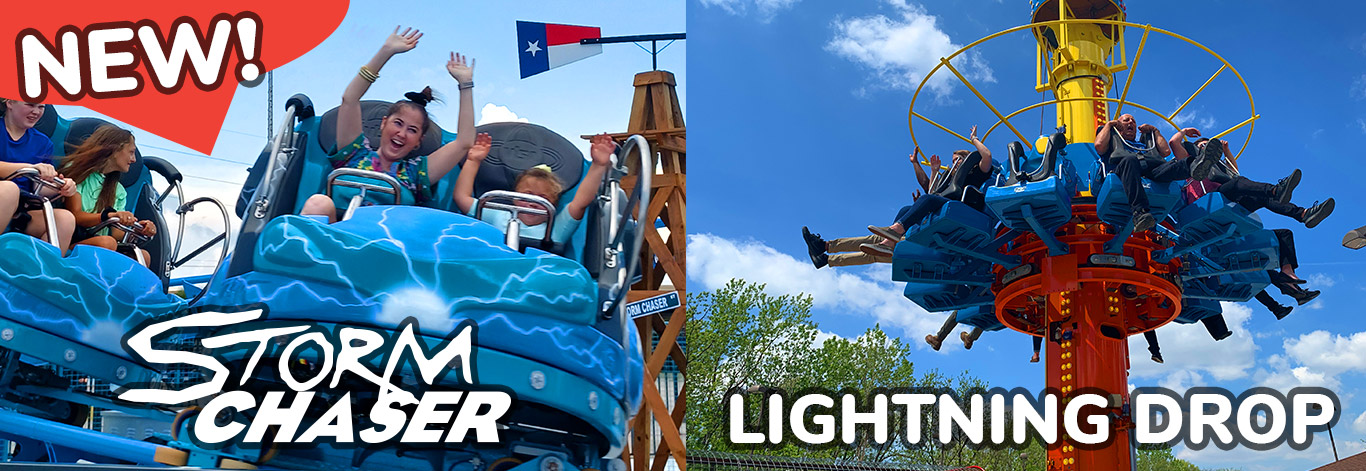 NEW Storm Chaser & Lightning Drop at In The Game Funtrackers